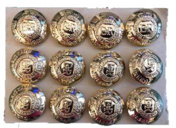 RE Gold Blazer Buttons